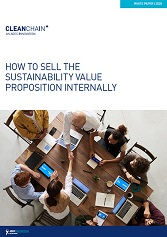 HOW TO SELL THE SUSTAINABILITY VALUE PROPOSITION INTERNALLY