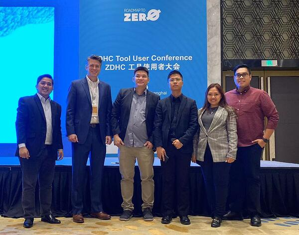 ADEC Innovations CleanChain team at ZDHC User Tool Conference in Shanghai