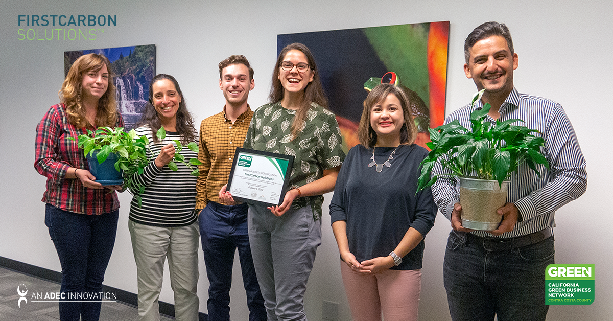 FirstCarbon Solutions Gets Green Business Certified