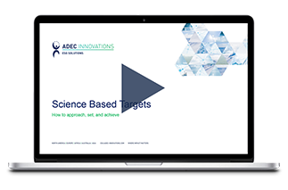 ADEC Innovations: Science Based Targets Webinar