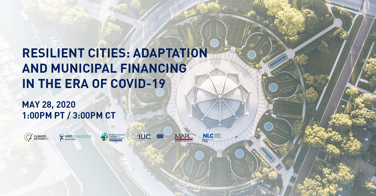 Resilient Cities: Adaptation and Municipal Financing in the COVID-19 era