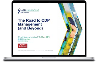 ADEC Innovations Live Workshop: The Road to CDP Management (and Beyond)